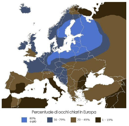 Colore occhi in Europa