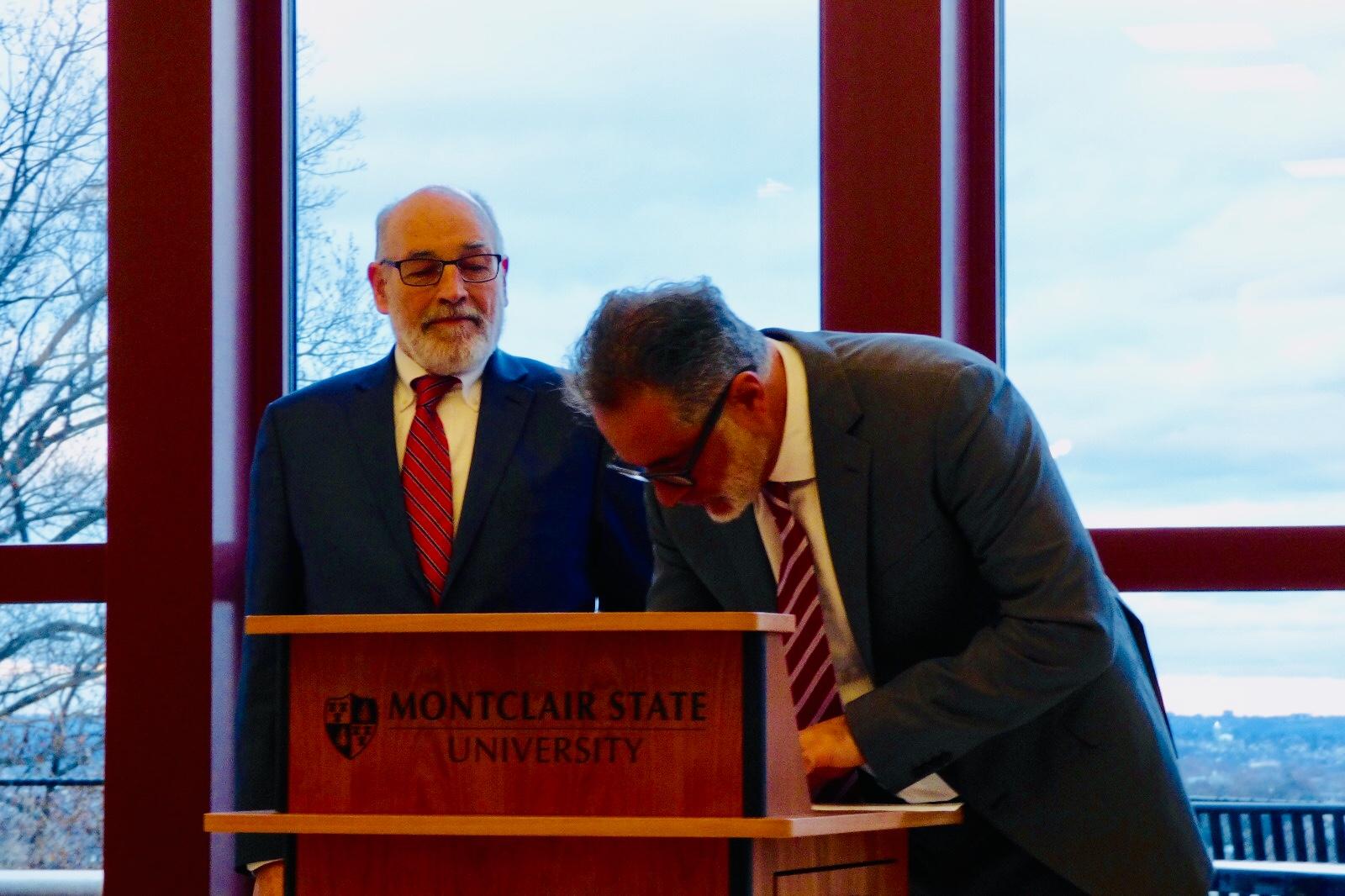 accordo tra la Montclair State University e Learn Italy