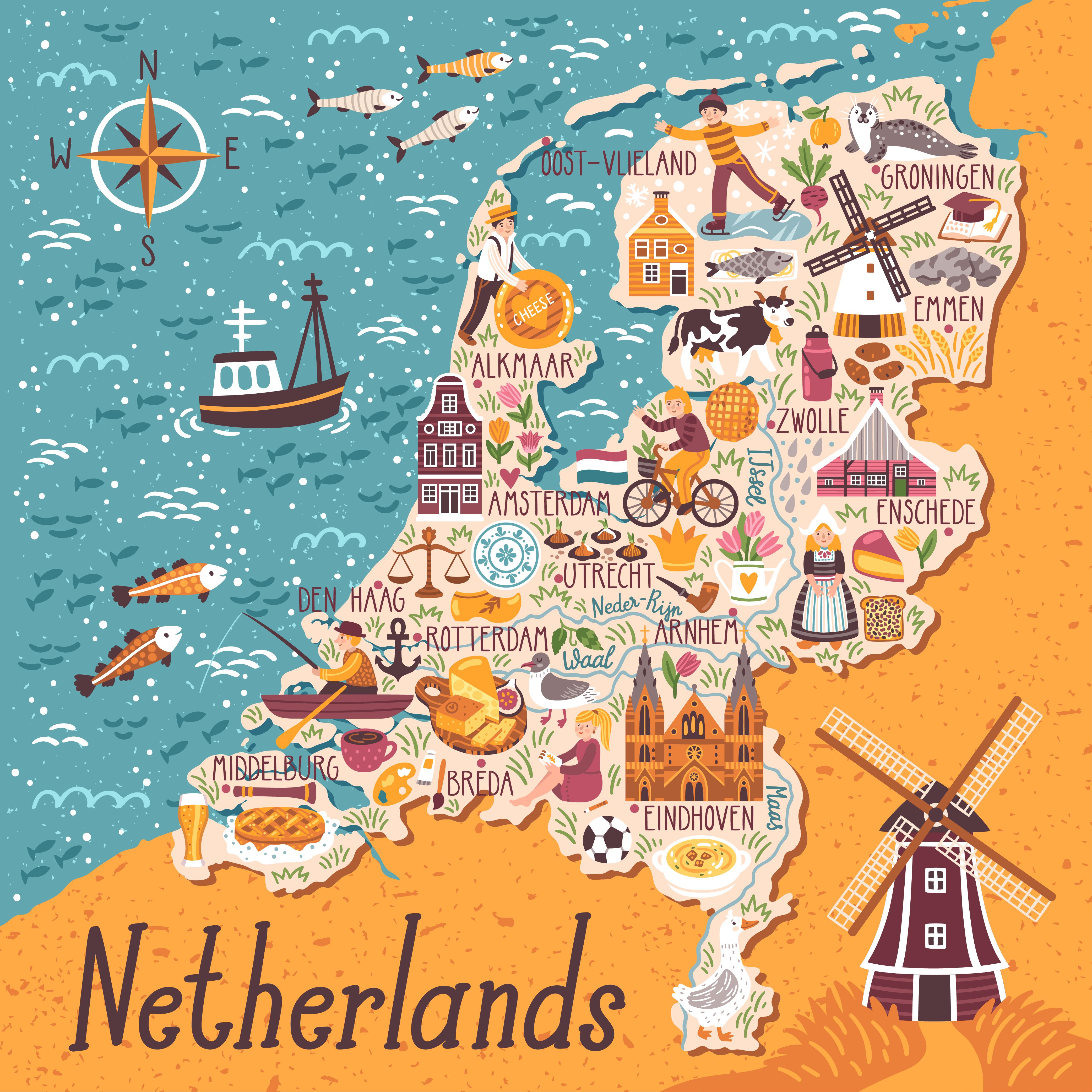 Olanda Cartina Turistica.Lavorare In Olanda Ecco Come Trovare Lavoro Guida