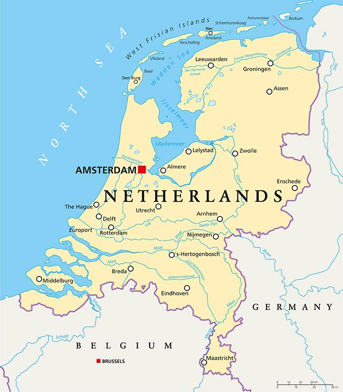 Cartina Olanda Fisica.Lavorare In Olanda Ecco Come Trovare Lavoro Guida