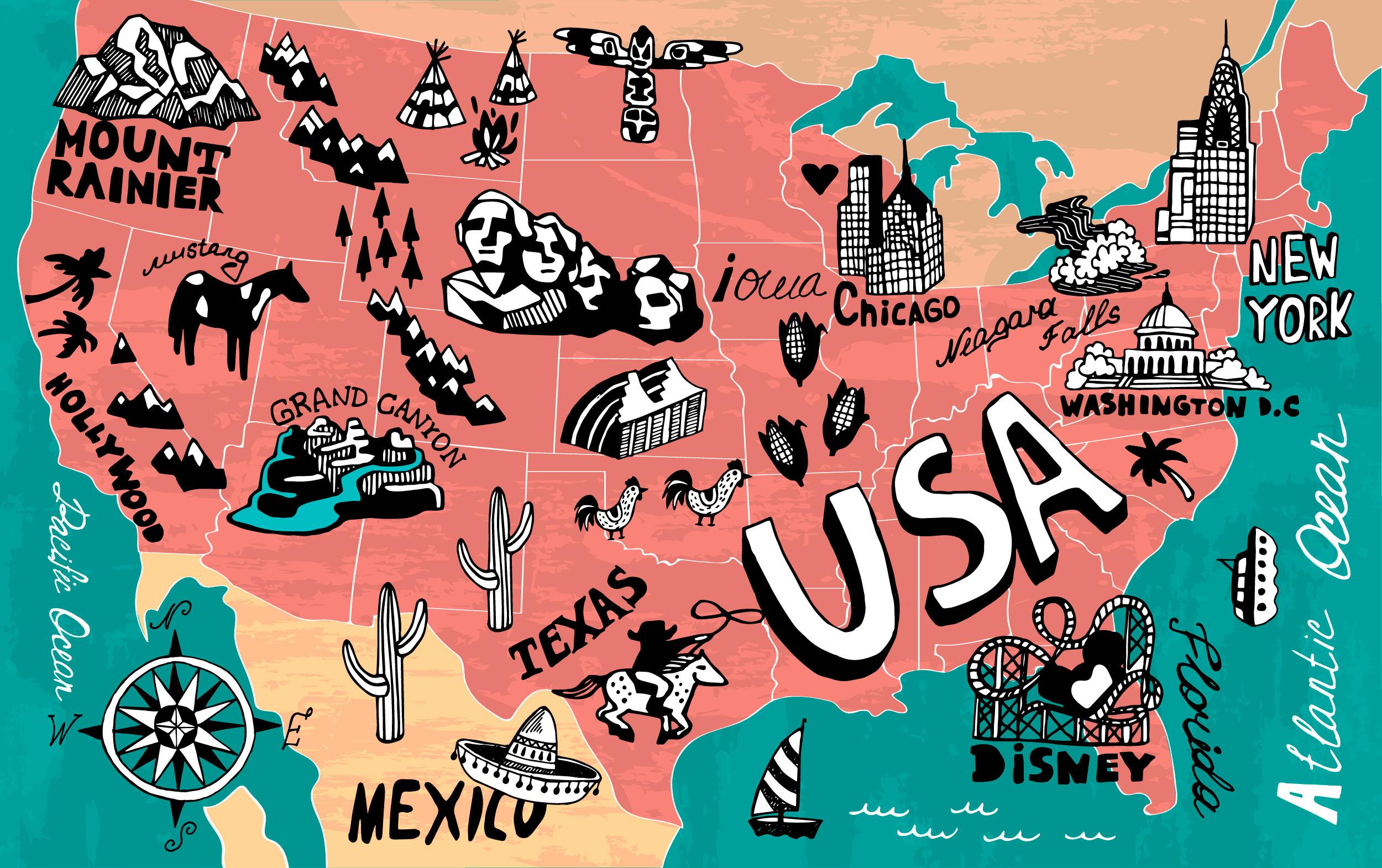 viaggiare in USA