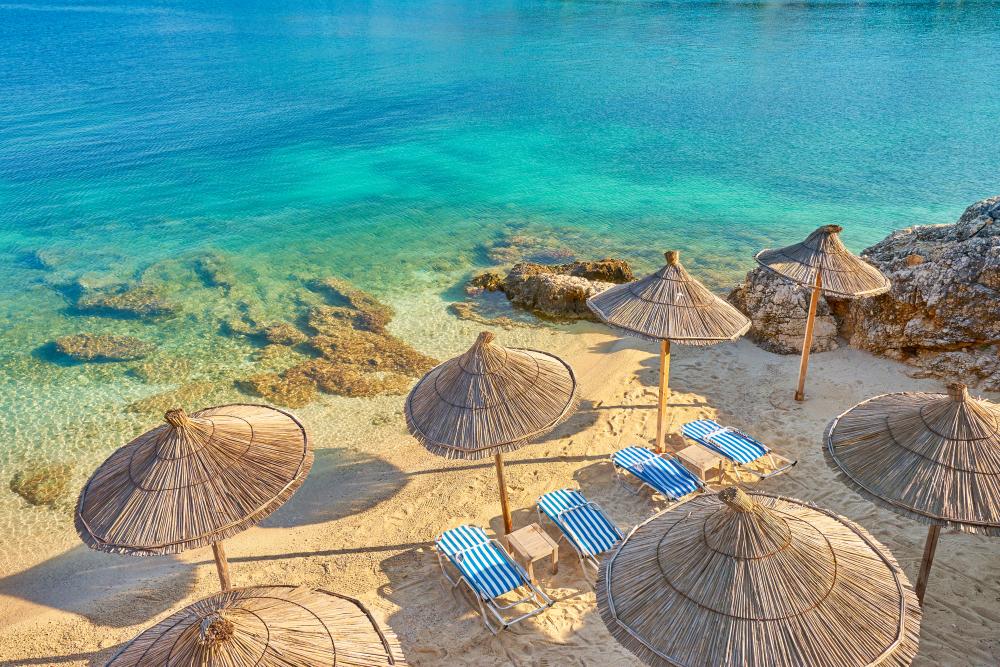 Albania, Ksamil Beach