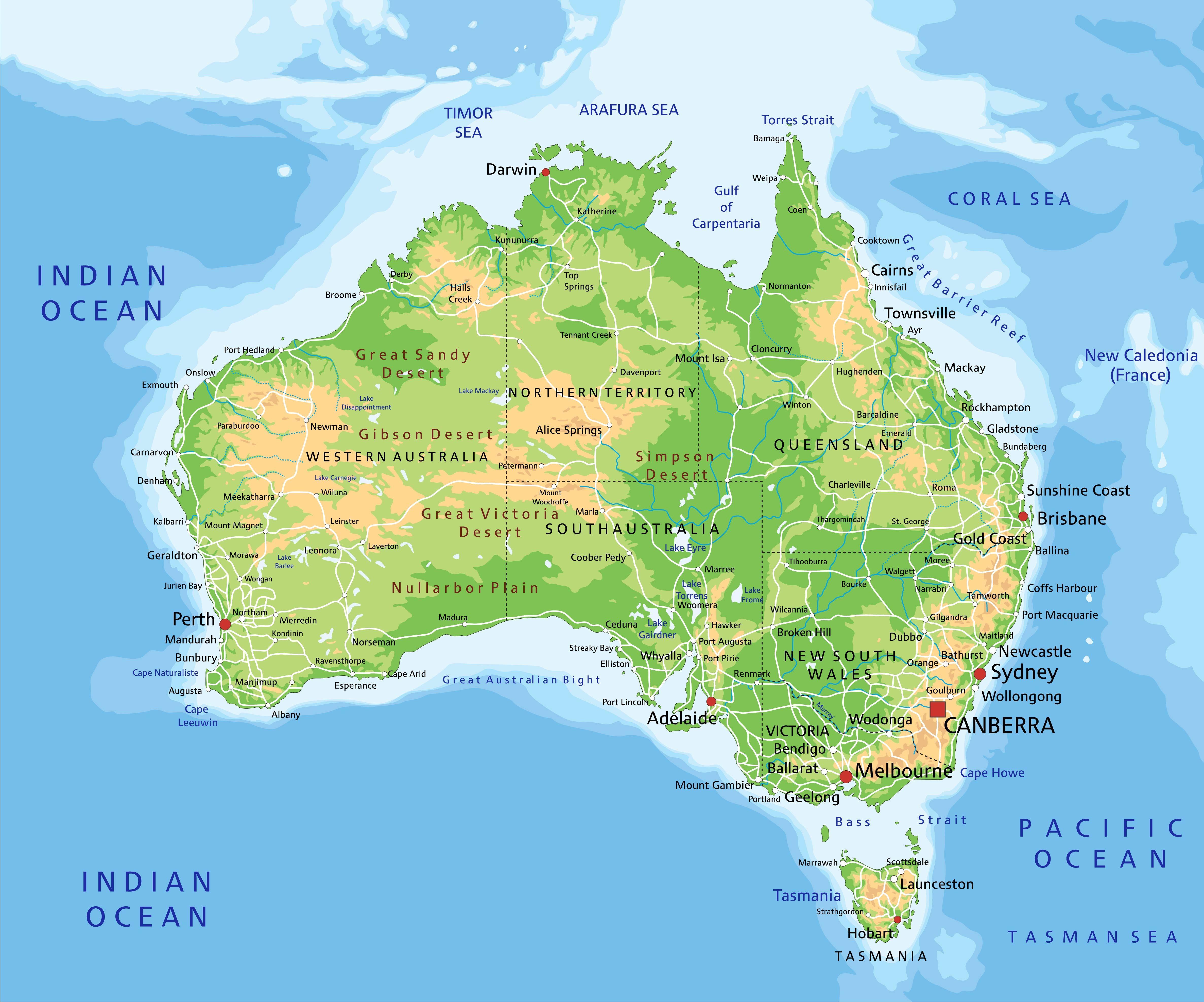 dove studiare australia