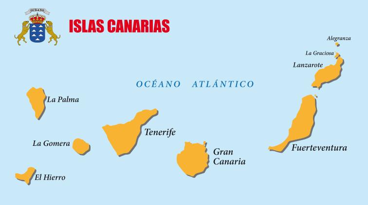 Cartina Delle Canarie.Investire Comprare Casa O Aprire Un Attivita A Gran Canaria