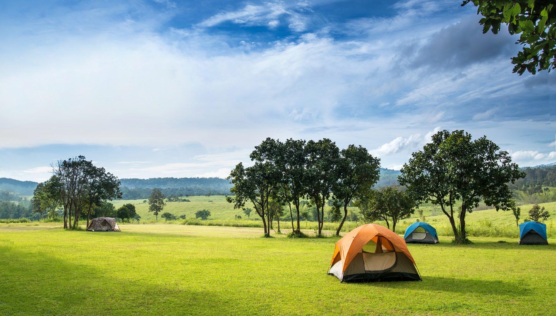 fare campeggio in italia