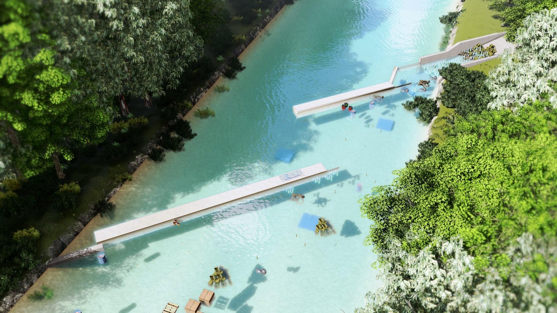 Blue Barriers, l'invenzione contro l'inquinamento da plastica inventata da due italiani