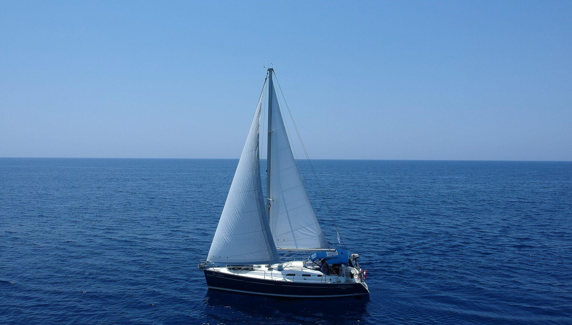 Greta e Michael e la loro vita in barca a vela