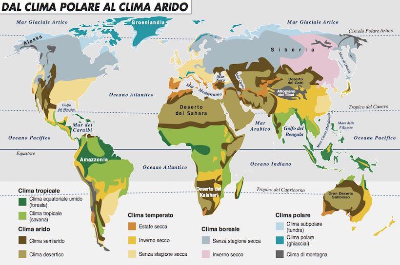 MAPPA CLIMA