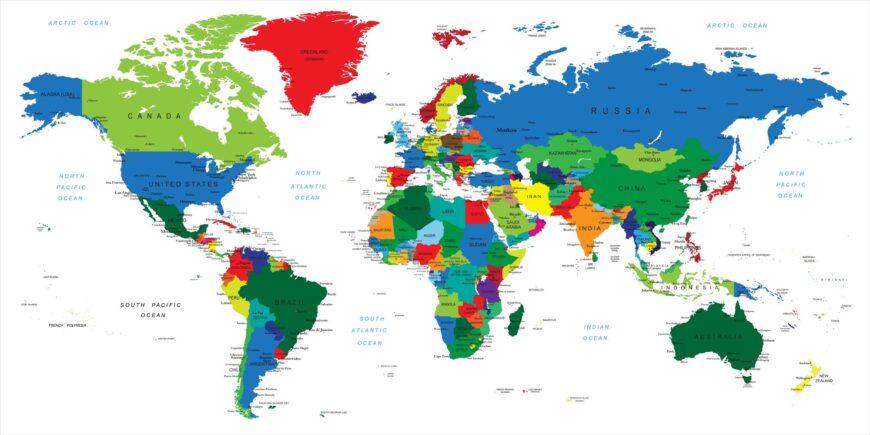 Cartina Mondiale Fisica.Mappe Del Mondo Le 22 Cartine Che Spiegano Il Mondo