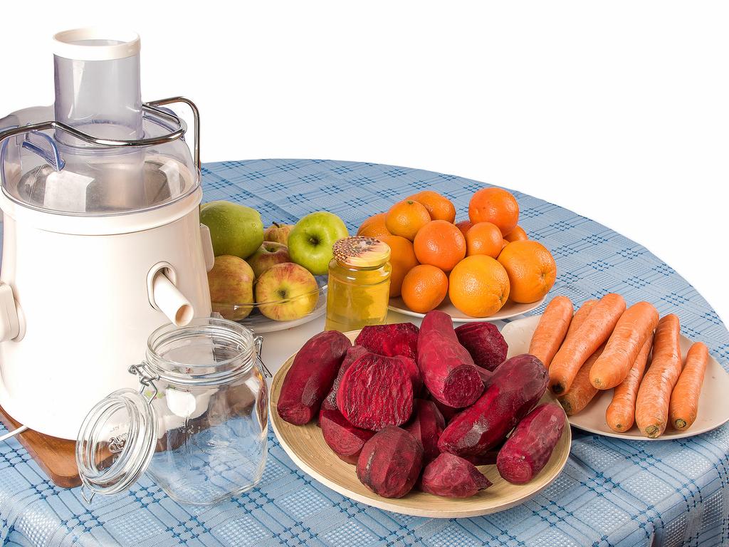 centrifuga barbabietola carote e mele