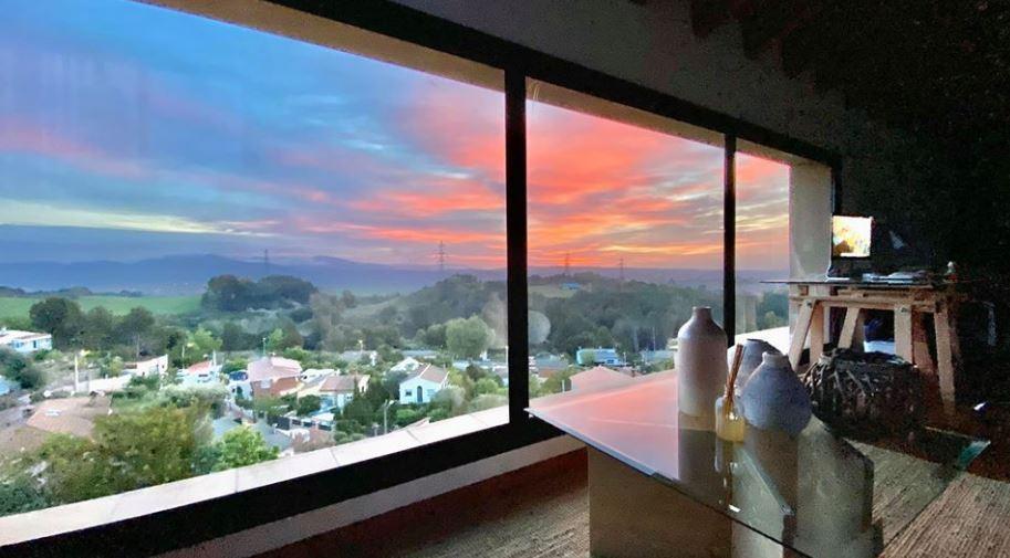 Fotografia da una finestra