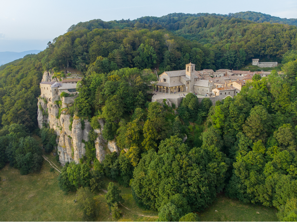 La Verna, Santuario Francescano, Toscana - viaggi spirituali in Italia