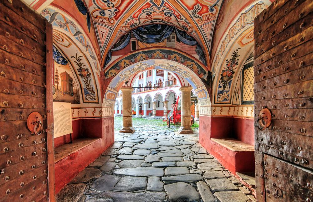 Monastero Ortodosso di Rila bulgaria - viaggi spirituali