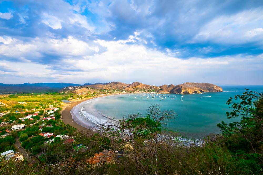 San Juan Del Sur, Nicaragua, Spiaggia Bella Vista