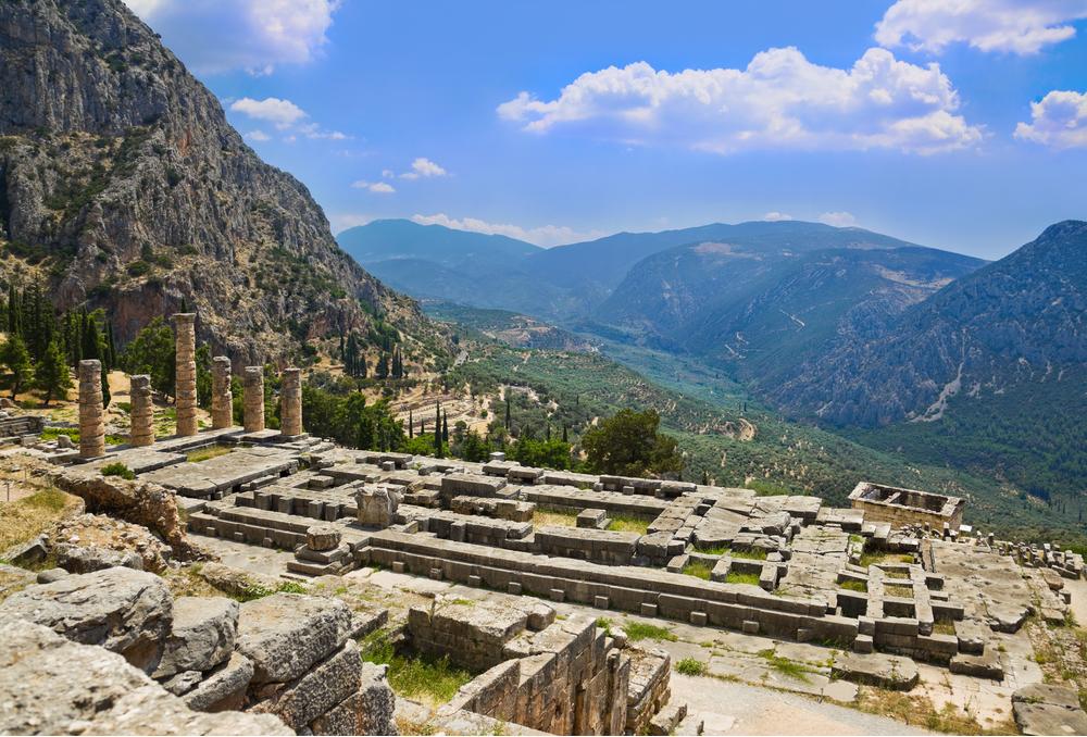 Santuario di Apollo, Grecia - mete spirituali