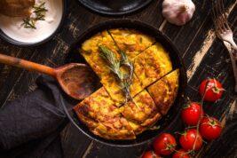 Ricetta della tortilla spagnola di patate