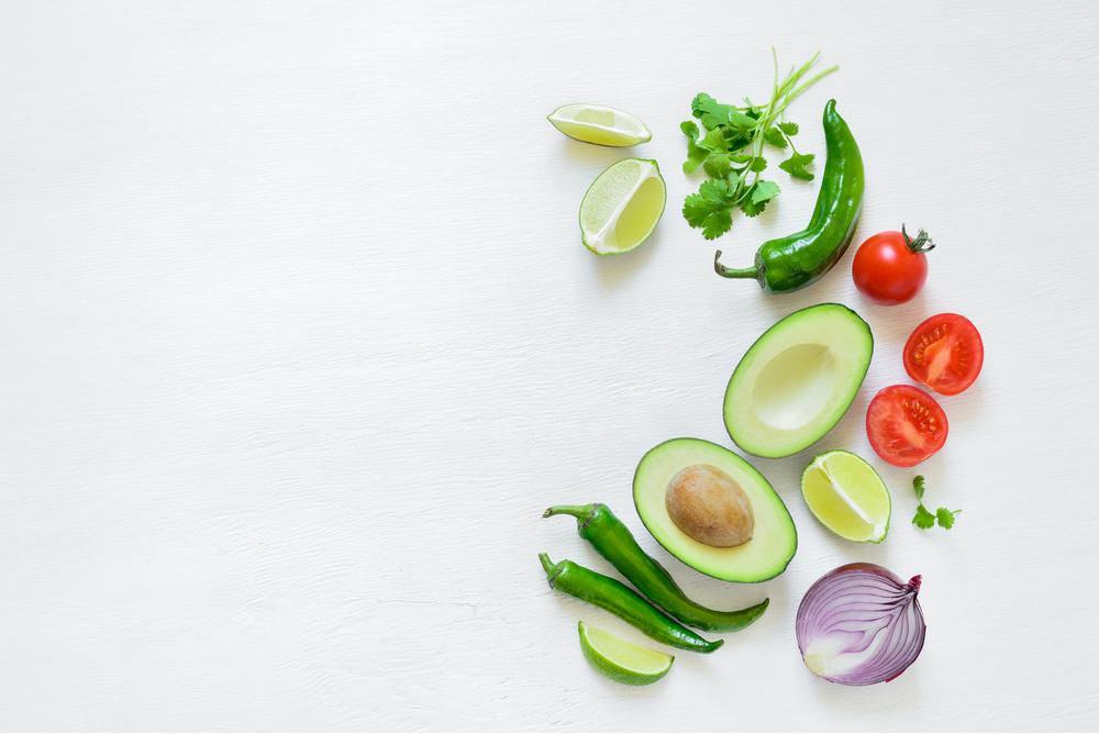 ingredienti del guacamole
