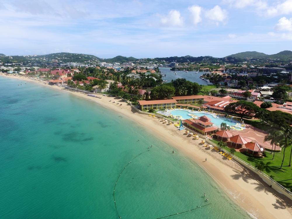 Reduit Beach comprare casa caraibi
