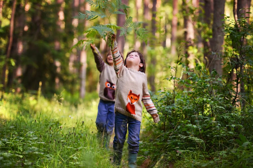 Vivere in un Ecovillaggio bambini