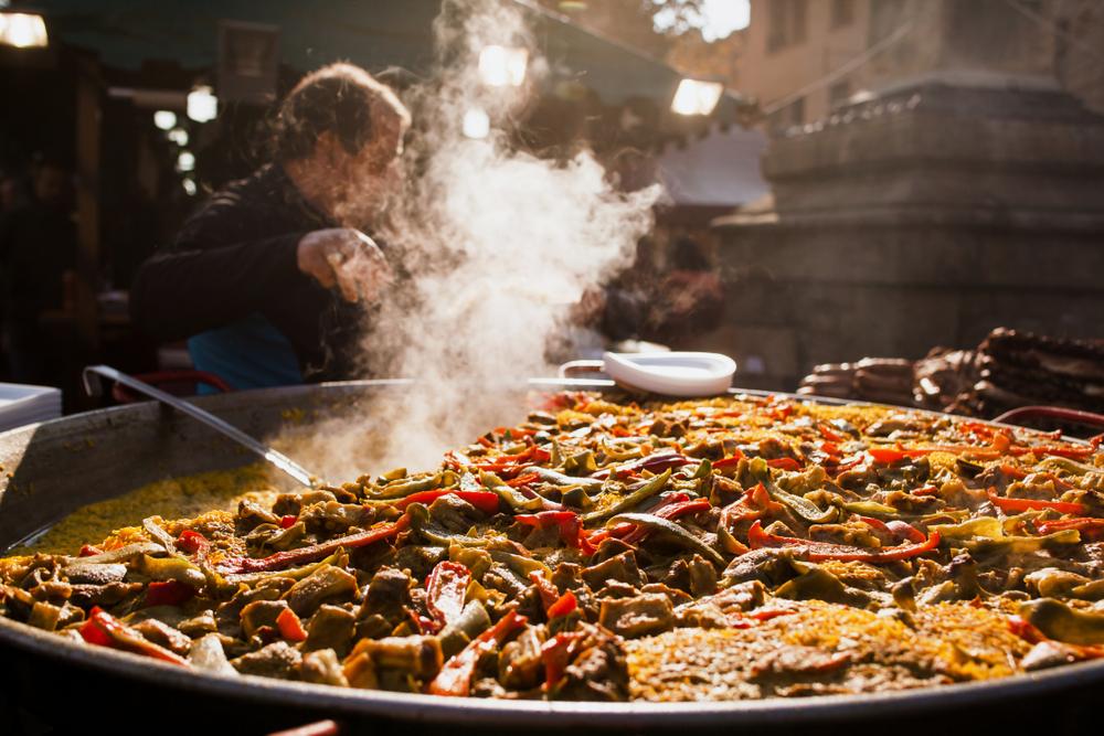 ricetta paella valenciana