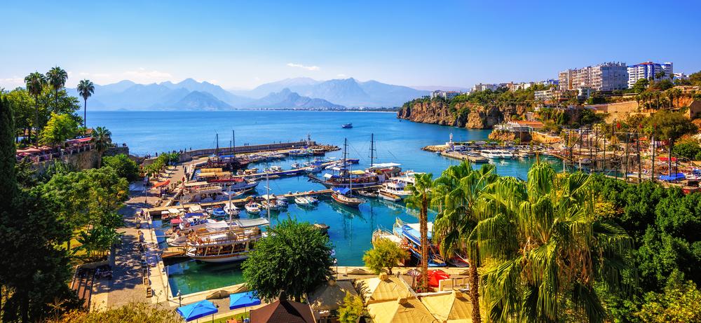 Città Vecchia di Antalya turchia vacanze nel mediterraneo