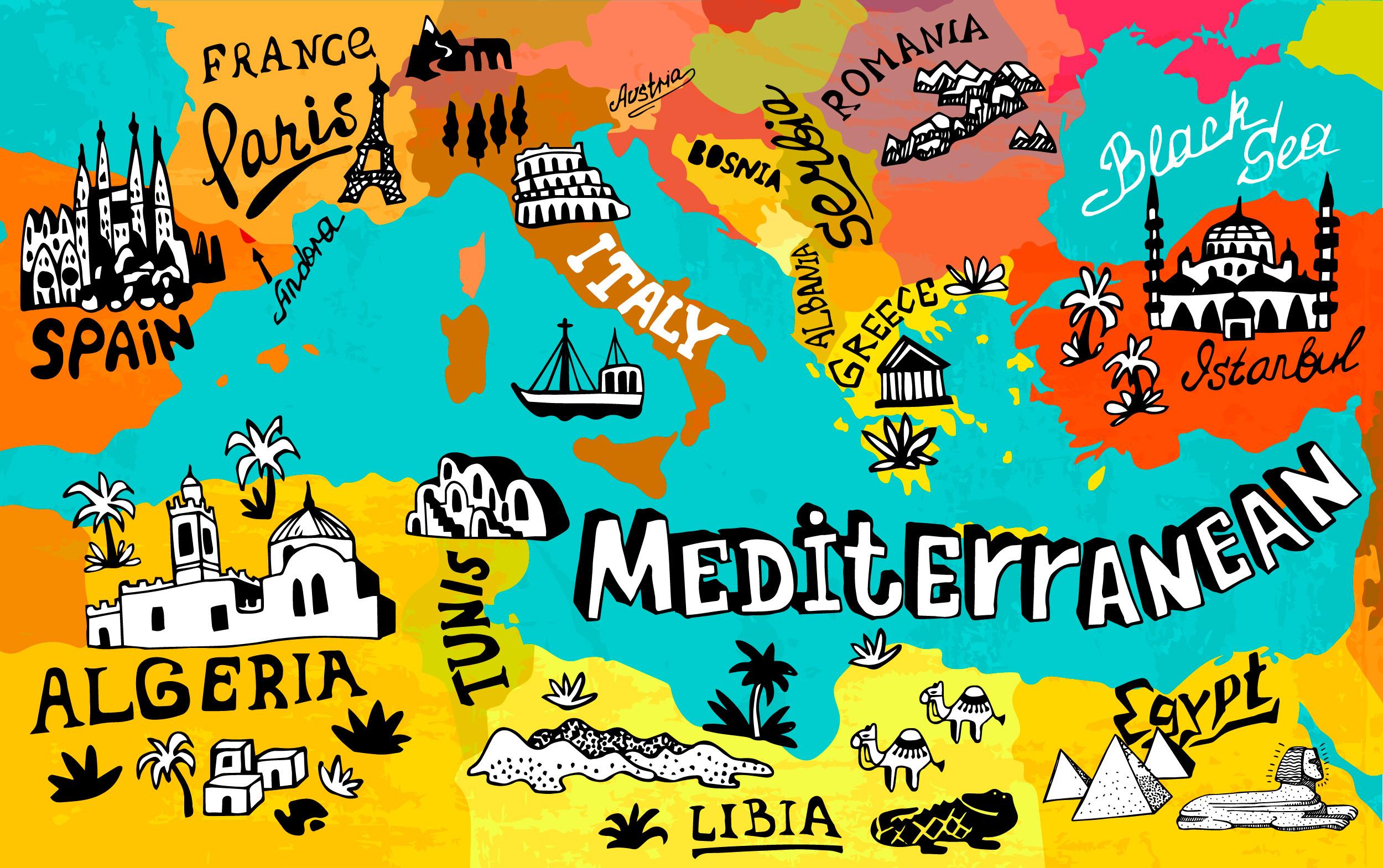 Vacanze nel Mediterraneo: