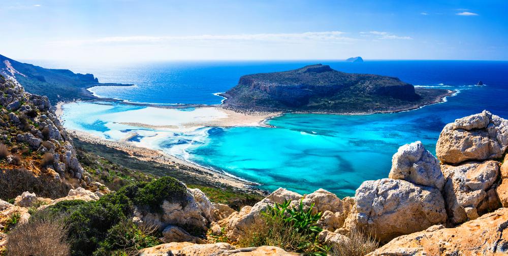 Baia di Balos nell'isola di Creta PENSIONATI A CRETA