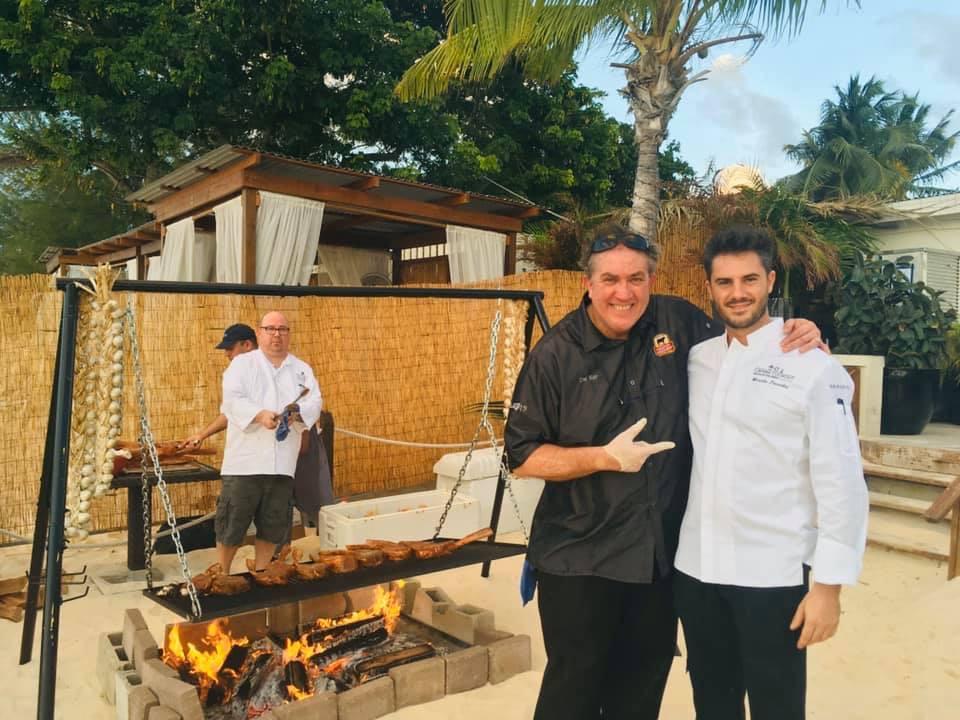 Chef alle isole Cayman: Marcello piacentini