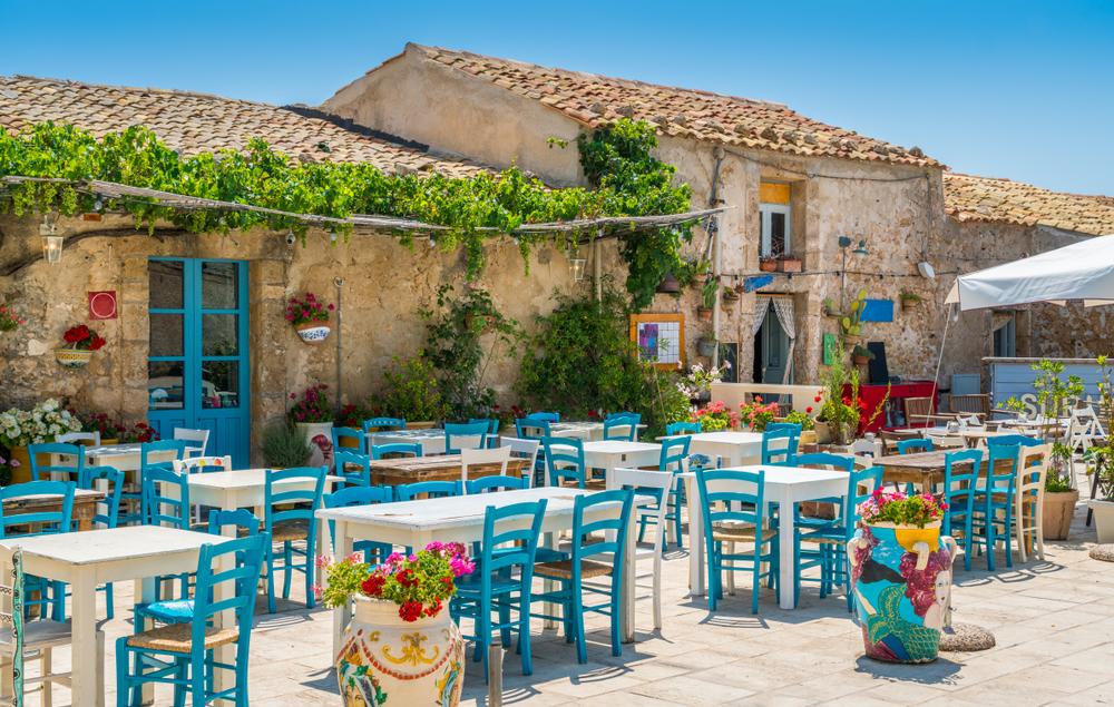 VIVER ECON POCO ITALIA Marzamemi, in provincia di Siracusa, Sicilia.