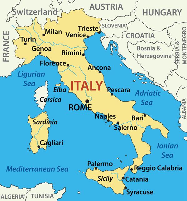 Dove si vive meglio in Italia mappa città