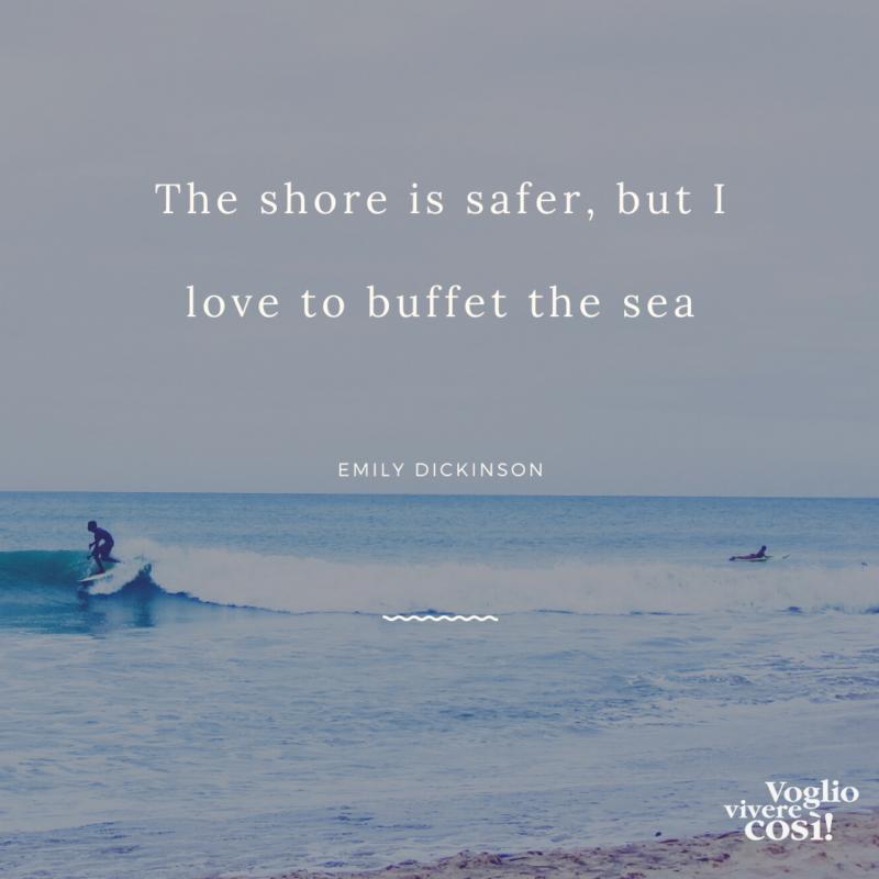 frasi belle sul mare in inglese