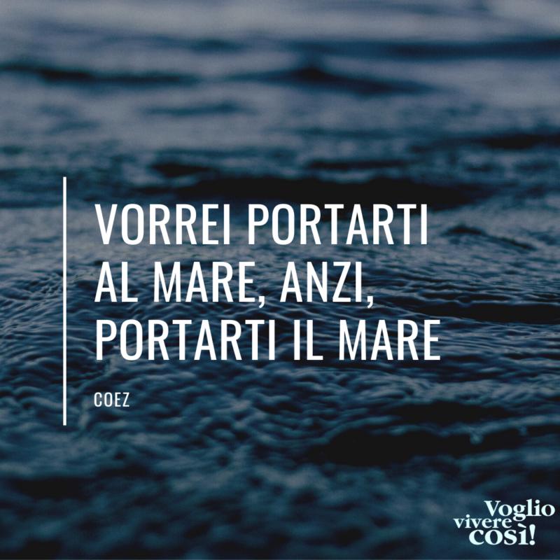 frasi canzoni indie sul mare