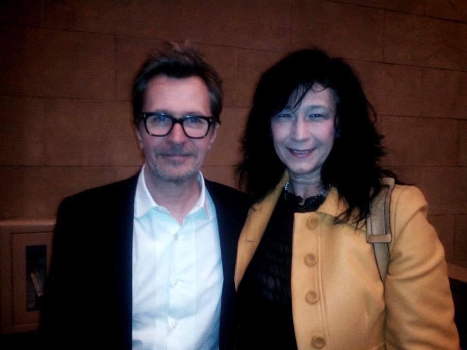Paola Cipollina e Gary Oldman