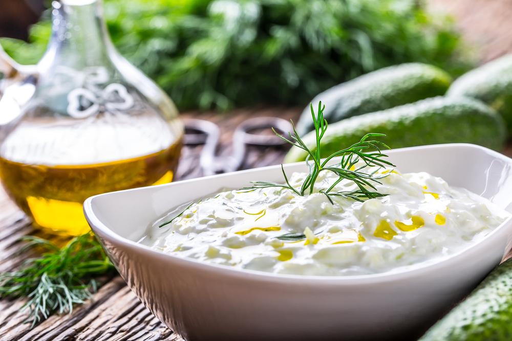 Ricetta della salsa tzatziki