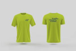 le magliette verdi di Voglio Vivere Così