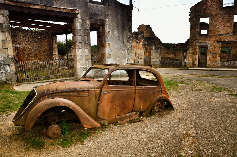 6. Oradour-sur-Glane, Francia
