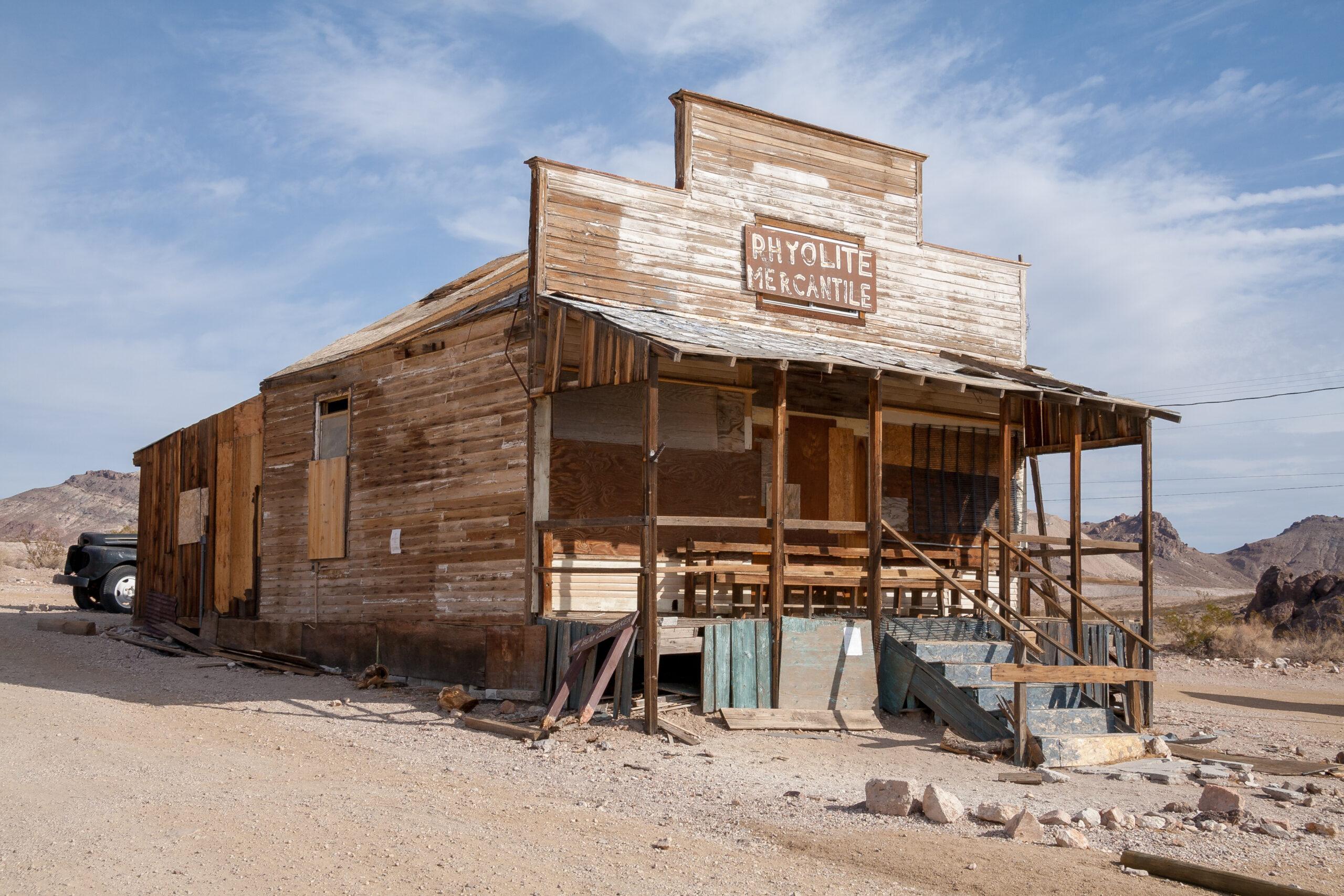 8. Rhyolite, Nevada