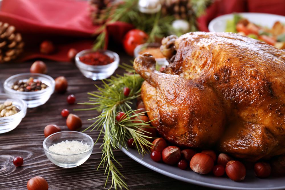 Christmas Stuffing turkey