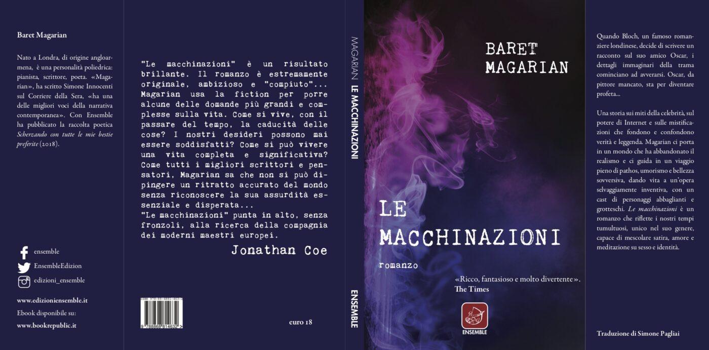 le macchinazioni copertina libro
