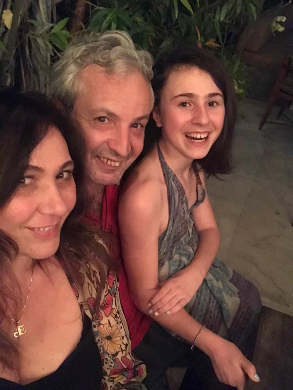 Elisa Vezzani e famiglia