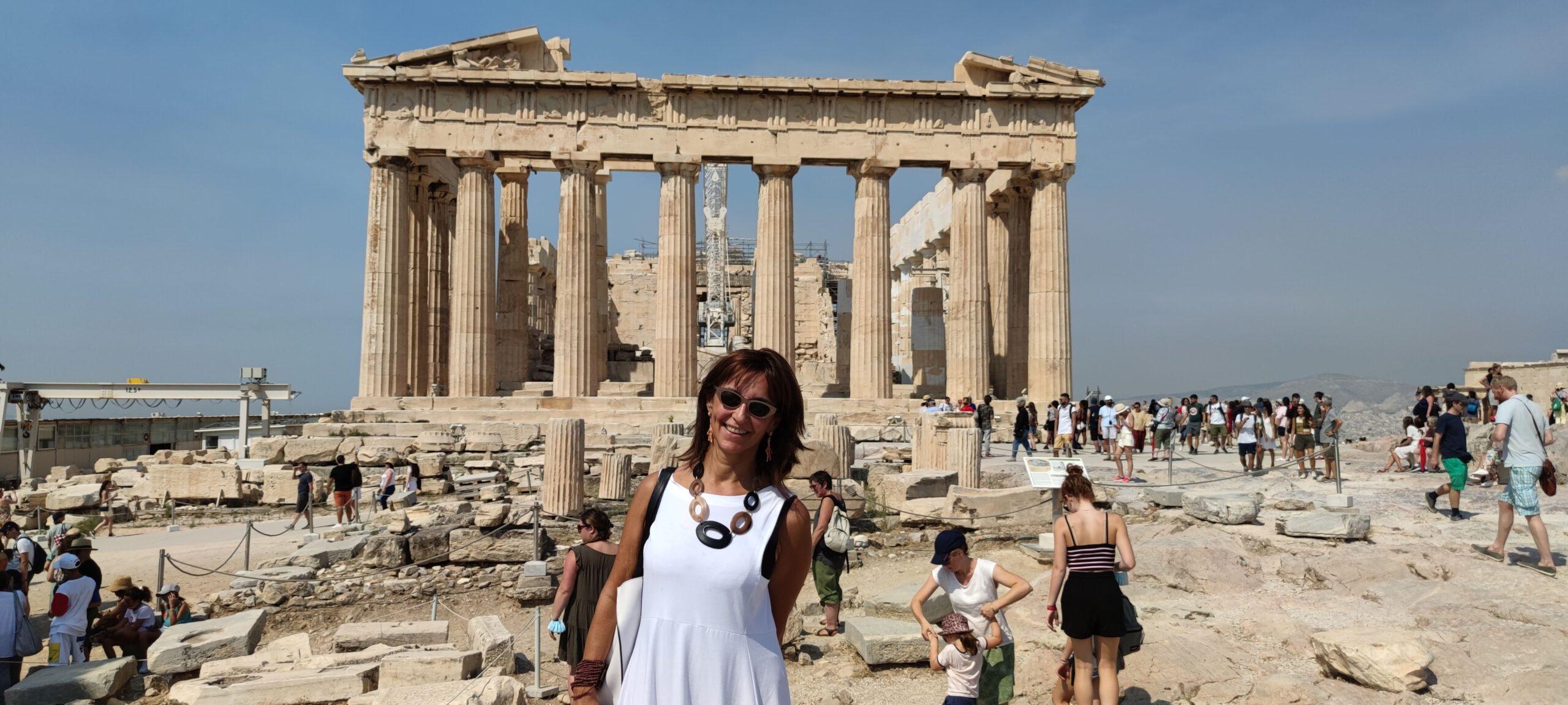 Mariantonietta consulente Evolution Travel in Grecia