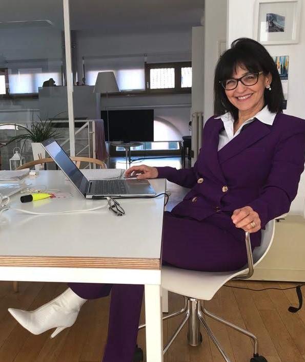 Mariantonietta consulente Evolution Travel in smart working