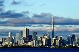 un cantante a Toronto