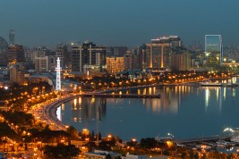 viaggio in Azerbaijan Baku