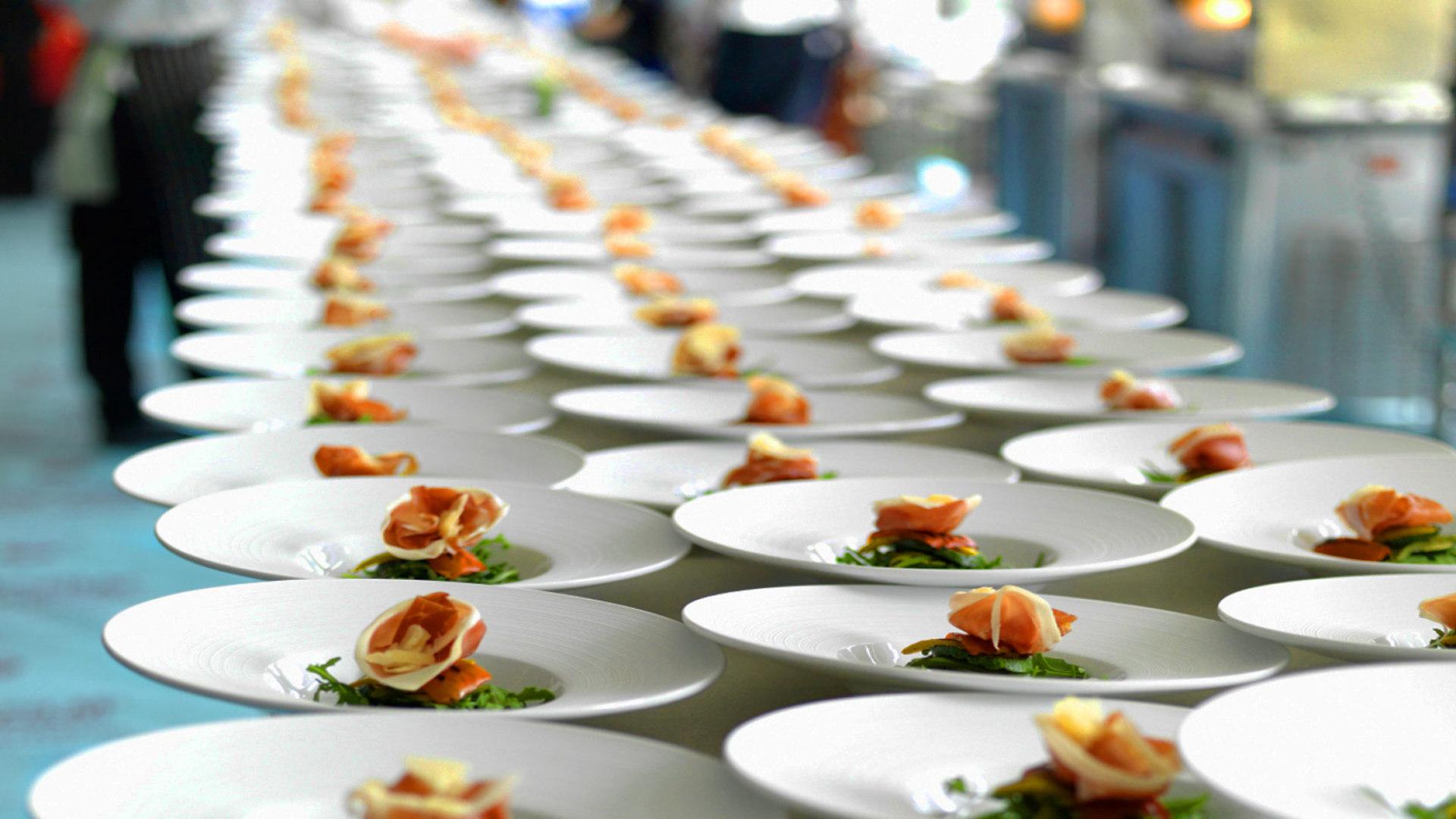 lavorare nel catering