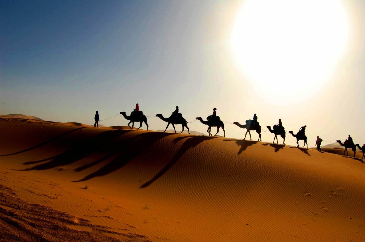 in viaggio in Algeria