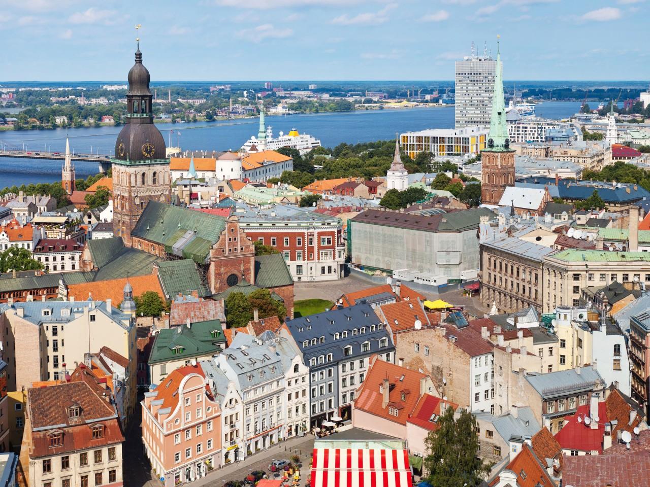 Riga capitale della Lettonia