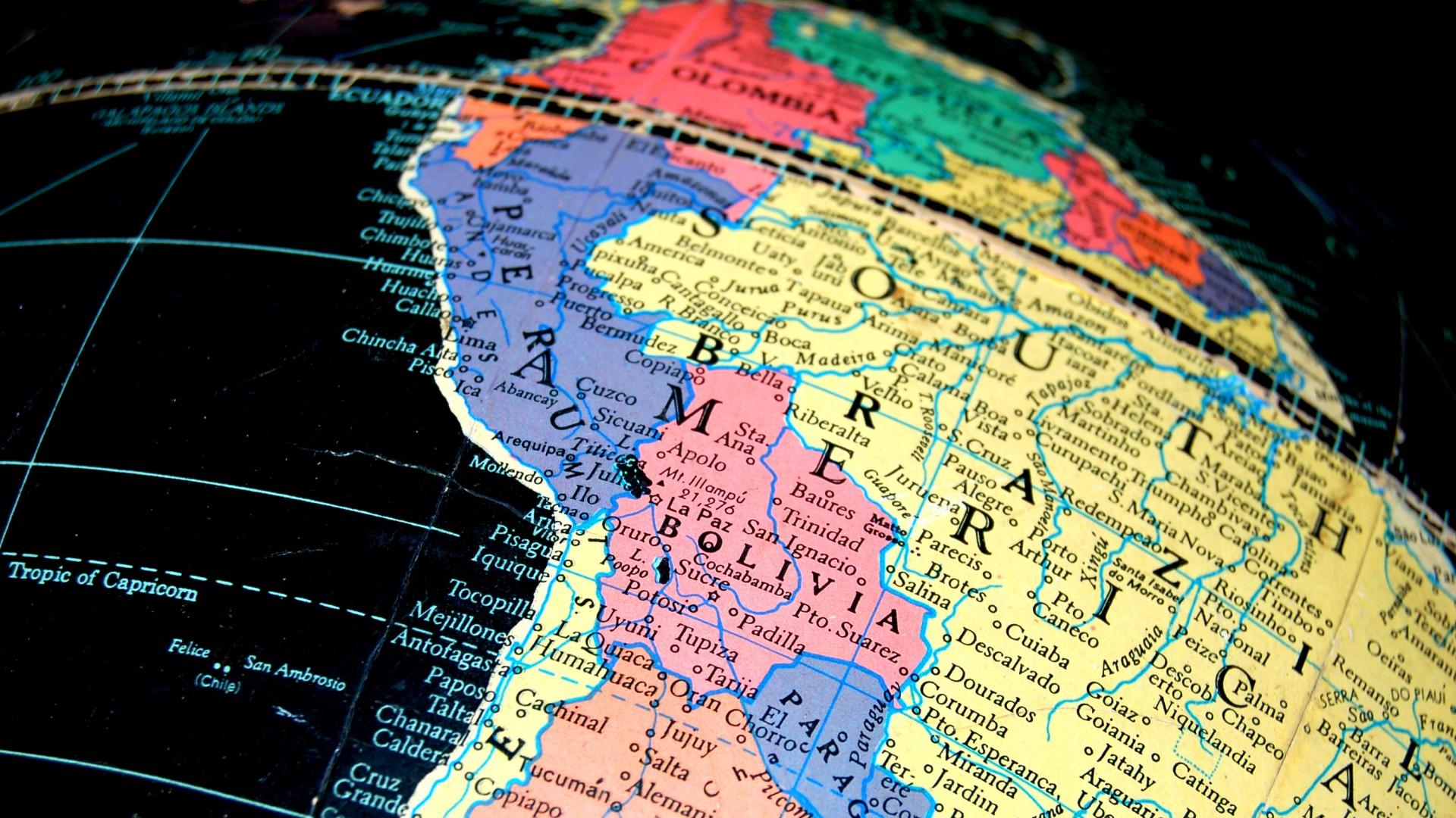 In viaggio in Sud America