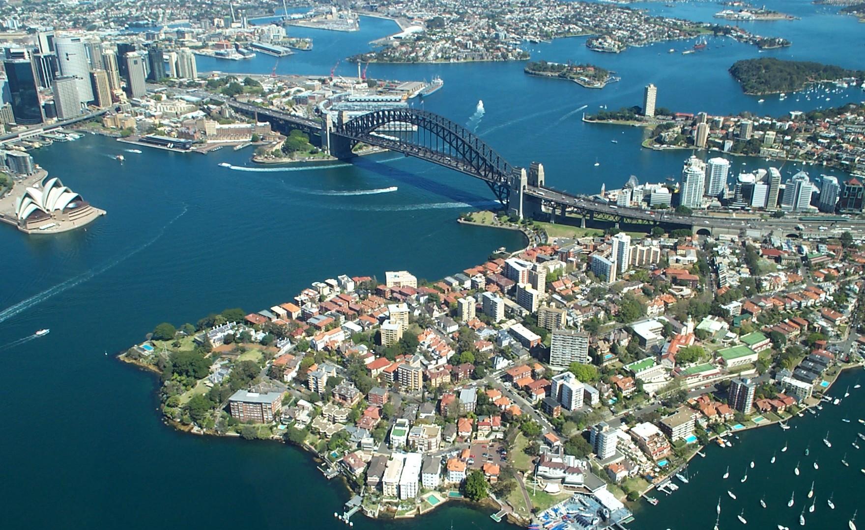trasferirsi a vivere a Sydney